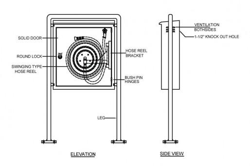 Hose Reels Amp Cabinets Alraedy Engineering Company